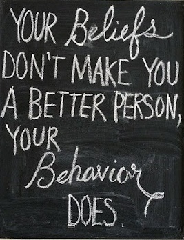 beliefs behaviour